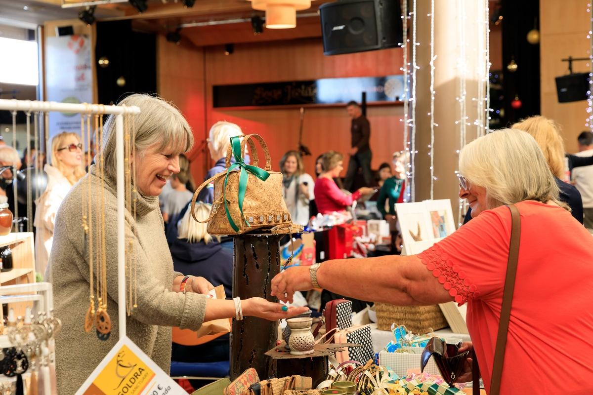 Contagem decrescente para o mercado de Natal em Vale do Lobo