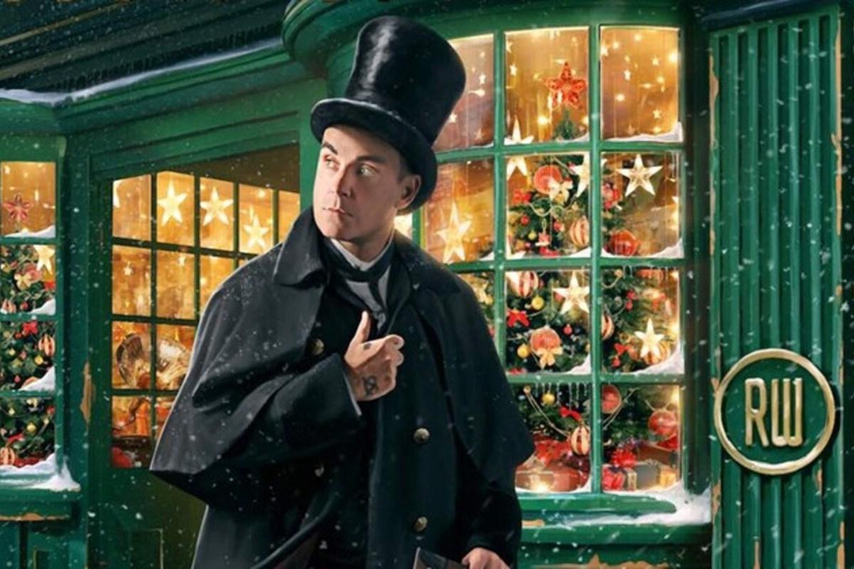 Robbie Williams lançou o seu primeiro disco de Natal