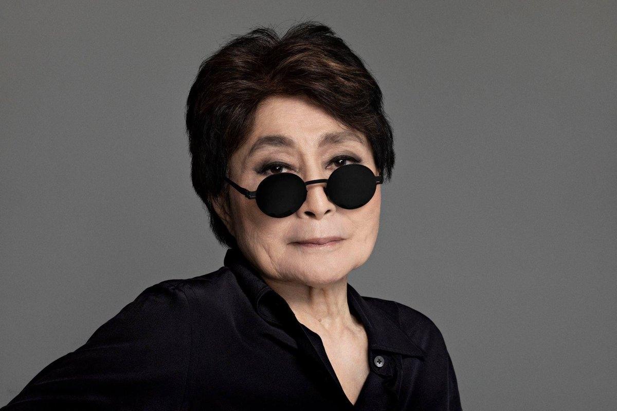 Yoko Ono em Serralves para inauguração de exposição