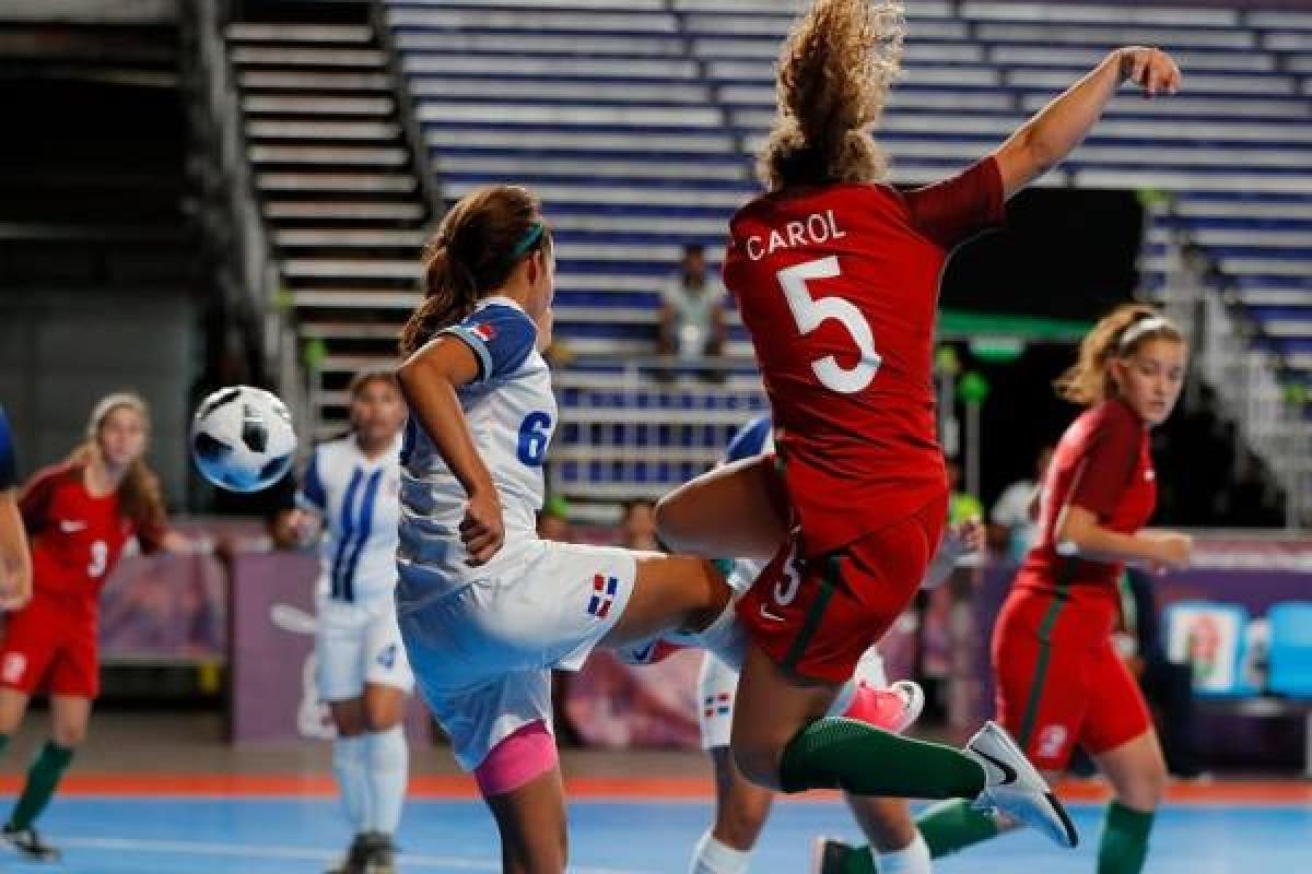 51b34f3e9d Carol (5) Campeã Olímpica Futsal Feminino Sub-19