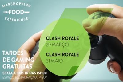 "MAR Shopping Matosinhos promove minitorneio de ""Clash Royale"""