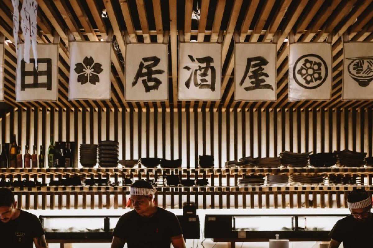 Abriu um novo espaço para partilhar petiscos japoneses