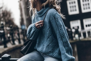 Sweater Outfits: Como usar camisolas de malha?