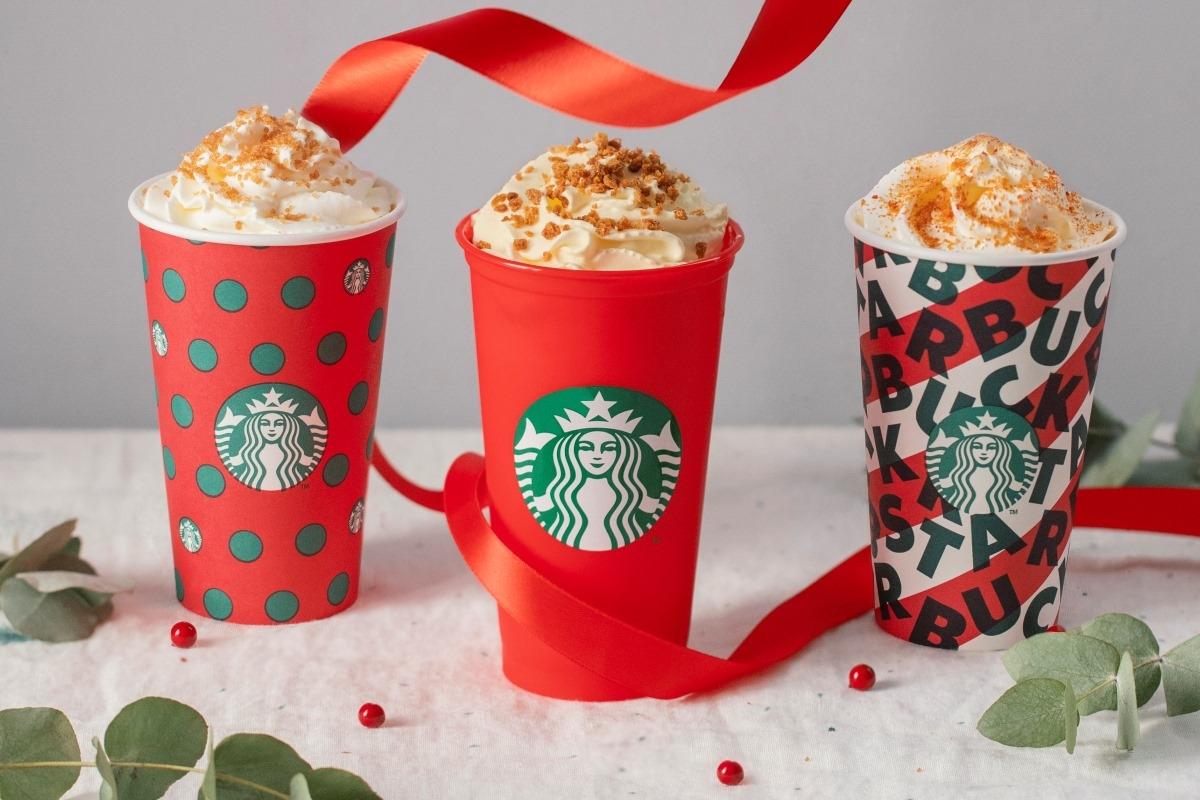 Starbucks® apresenta os novos Red Cups para esta época