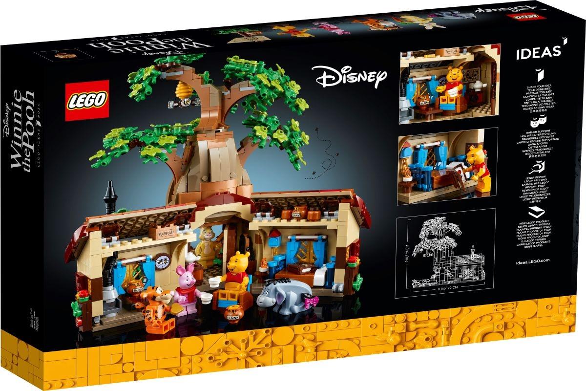 Regressa ao Bosque dos 100 Acres com o novo LEGO® IDEAS WINNIE THE POOH