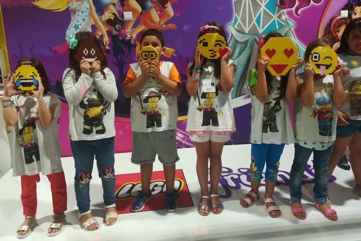 LEGO Fun Factory com muitas atividades para os mais pequenos