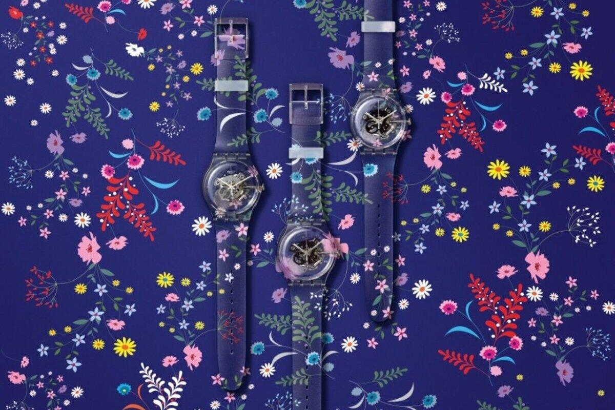 Os relógios personalizáveis da Swatch são um mimo