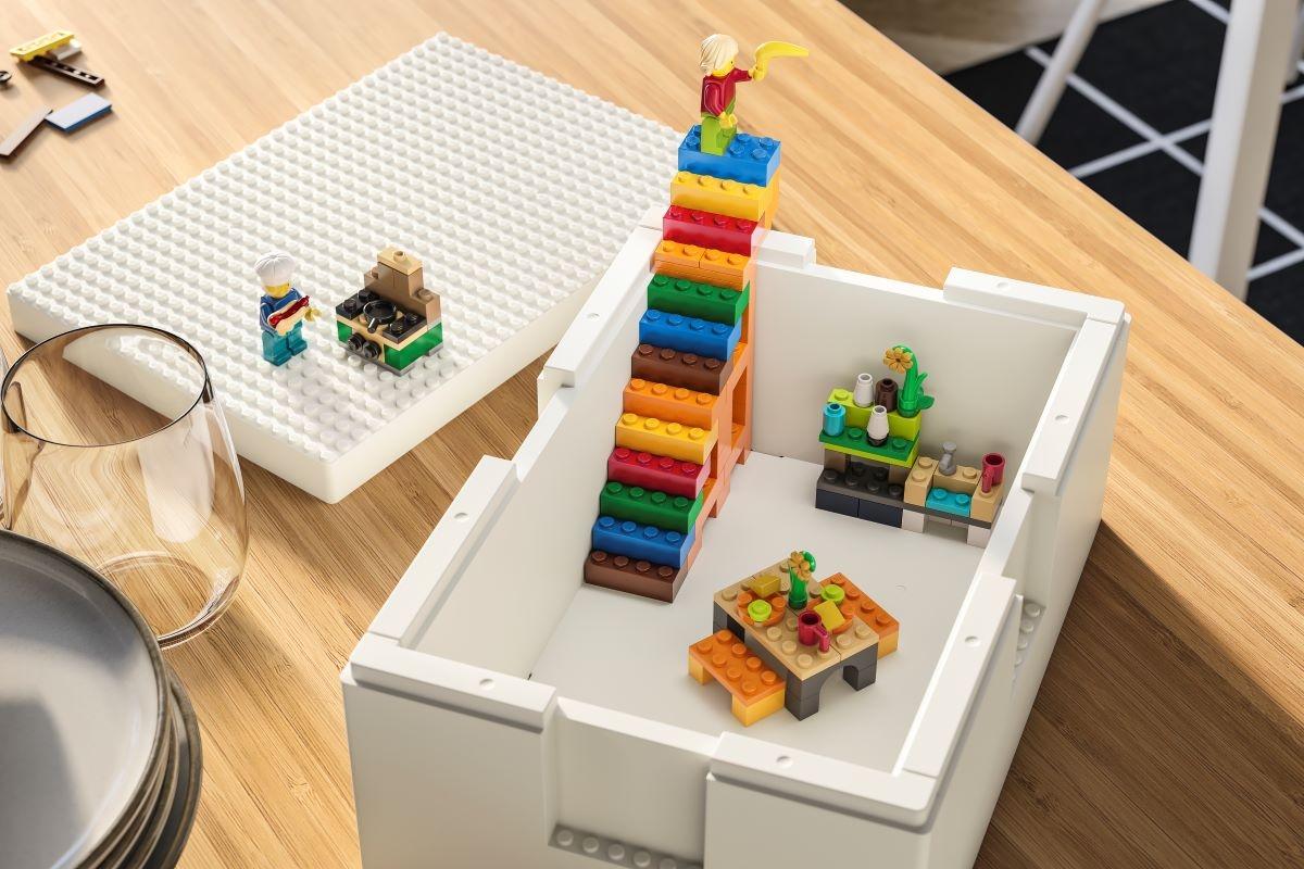 IKEA®e Grupo LEGO apresentam BYGGLEK, para brincar, mostrar e recomeçar