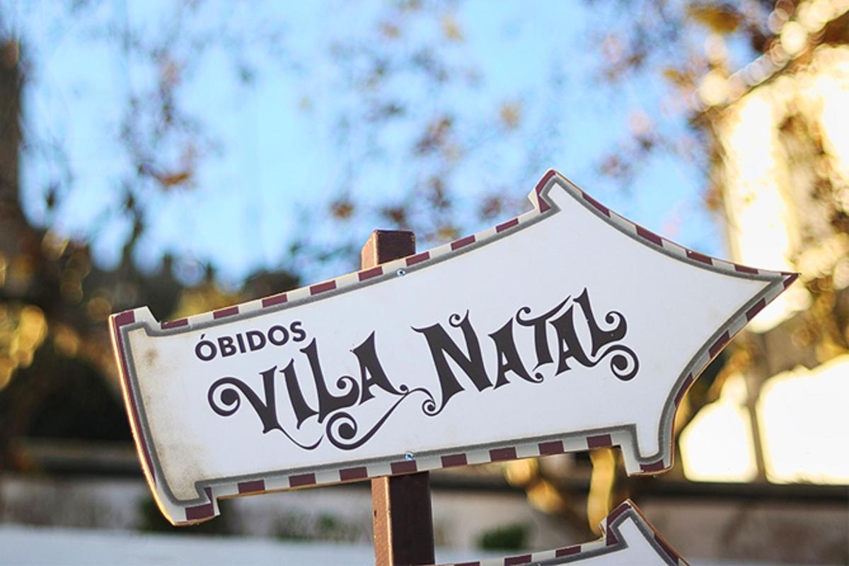 Noite num resort e entradas para a Óbidos Vila Natal? Sim!