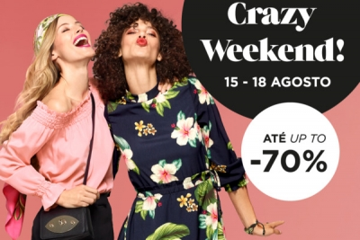 Grandes descontos no Crazy Weekend no Designer Outlet Algarve