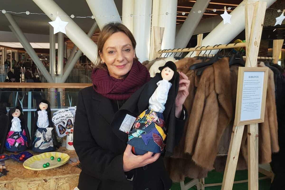 Maria do Mar, a boneca peixeira solidária e 'ecofriendly'