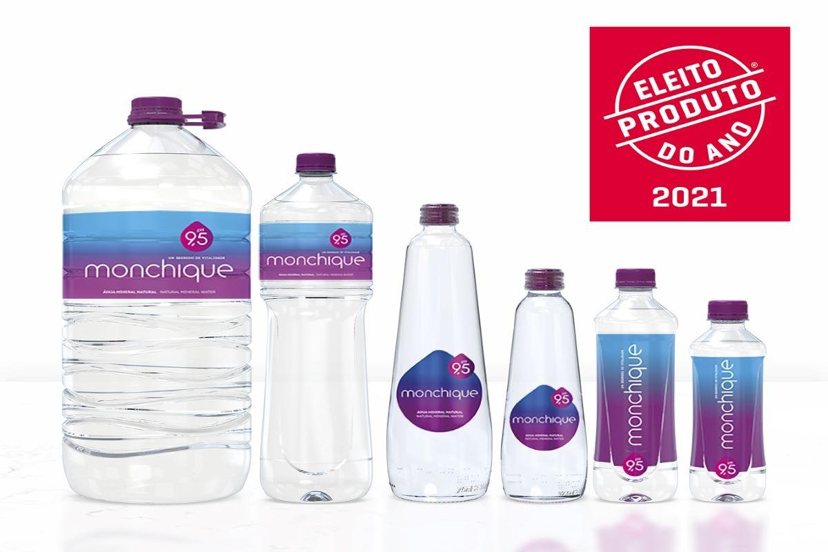 Água Monchique eleita Produto do Ano 2021