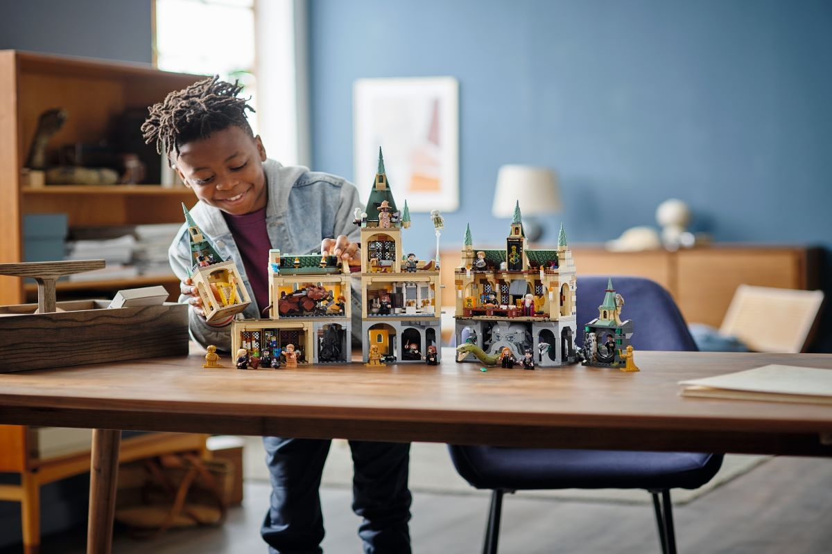 Os novos sets LEGO® Harry Potter® trazem ainda mais magia